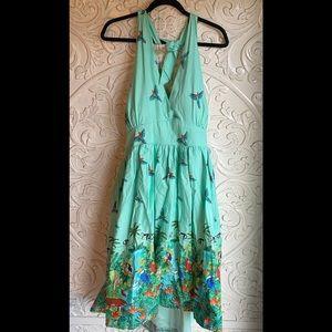 Lindy Bop Jungle Halter Dress NWT Size 20
